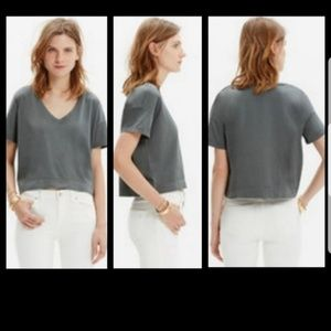 Madewell crop top size M